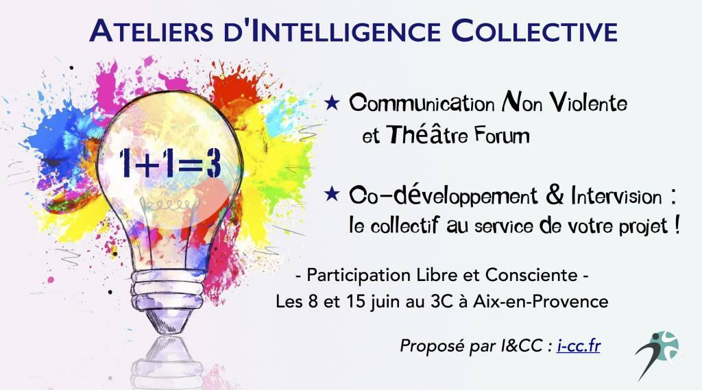 Ateliers d'Intelligence Collective au Café Culturel Citoyen à Aix-en-Provence