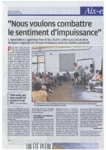 Théâtre-forum et Intelligence Collective